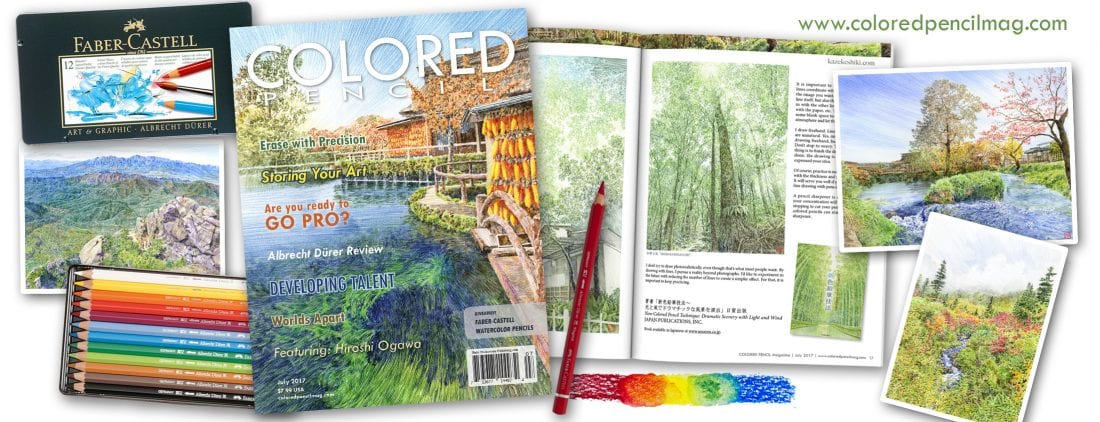 Faber Castell Calendar Art Competition : Colored pencil magazine inspiration for the passionate