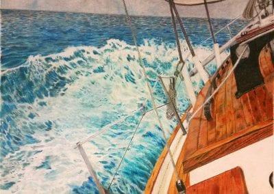 """Sailing Vessel Raven"""
