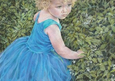 """Little Girl in Blue"""