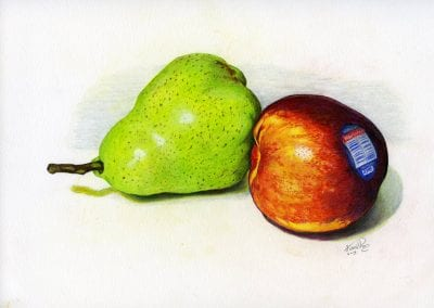 """Nectarine Paired Pear"""