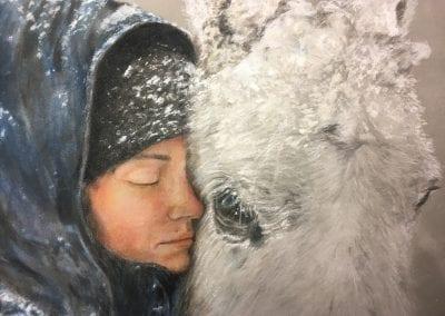 Snowy Cuddle