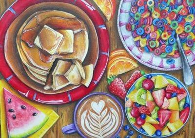 """Gourmet Breakfast"""