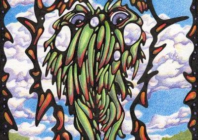 """Green Flowerman - Summer Beard"""