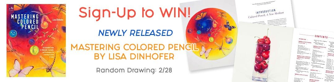 Mastering Colored Pencil Book Giveaway