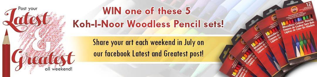 Koh-I-Noor Woodless Giveaway!