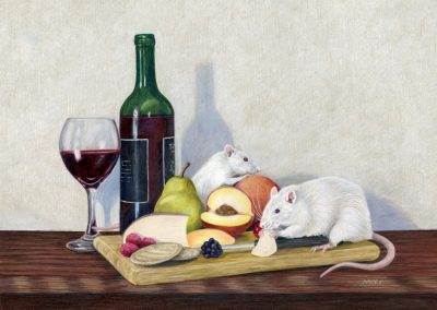 """Still Life With Rats"""