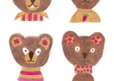"""Whimsical Bears"""