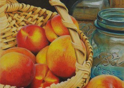"""""""Peaches and Ball Jar"""""""