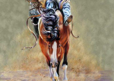 """Cowboy Levitation"""