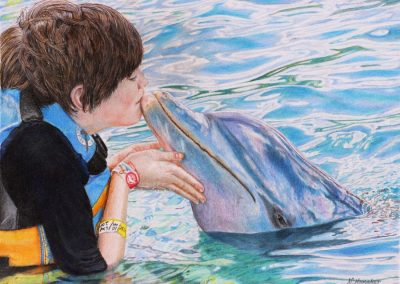 """Dolphin Kisses"""