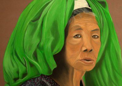 """""""Old market lady of Sumatra"""""""