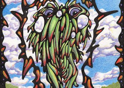 """Green Flowerman (summer beard)"""