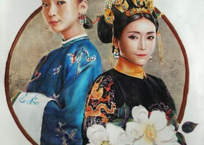 """Imperial concubine of the Qing Dynasty"""
