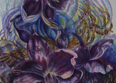 """""""Windblown Australian Vanilla Lillies"""""""