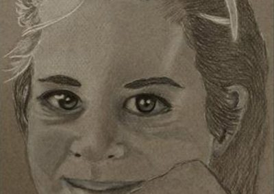 """No 3 Self Portrait 6 years"""