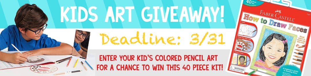 Faber-Castell Kids Art Giveaway!