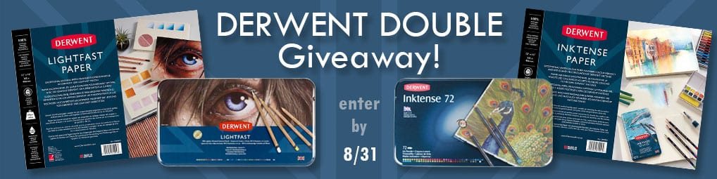 Derwent Double Giveaway!