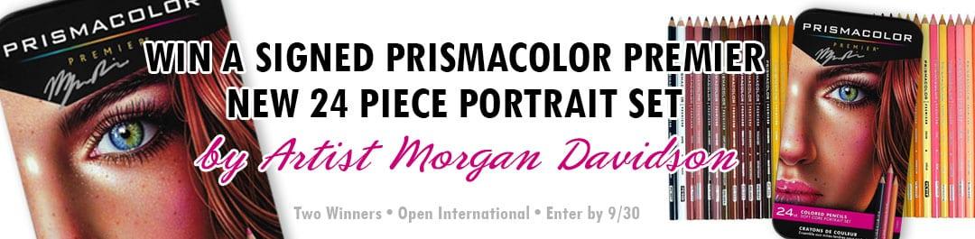 Prismacolor Signed Portrait Set Giveaway!