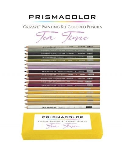 Tea Time Pencil Set