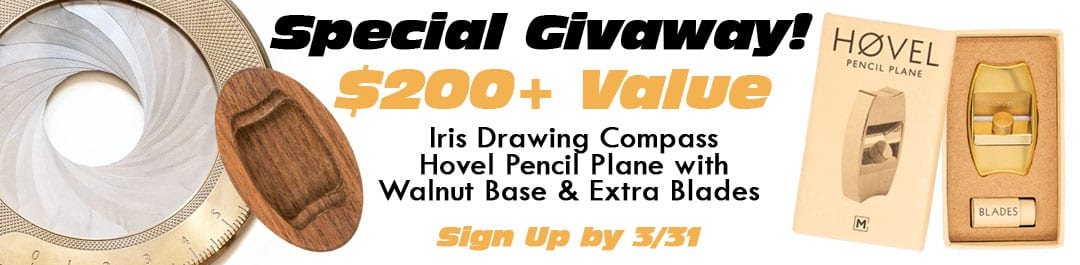 Special Iris & Hovel Giveaway