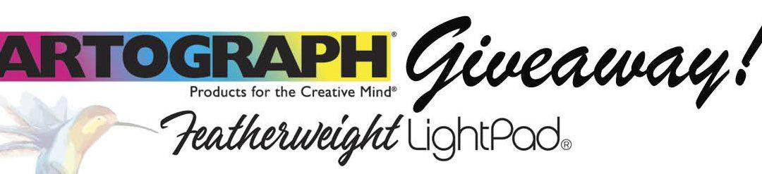 Artograph Lightpad Giveaway